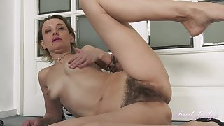 Gerda Sweaty Workout Leads To Soft Pussy P