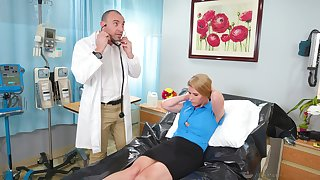 Fine moments as the crow flies the young doctor fucks her mature pussy big period