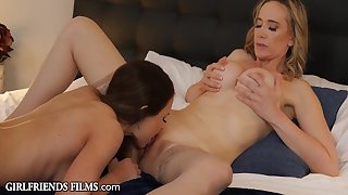 Kendall Kayden And Lilly James In Unaccompanied Team a few More Time Stepmoms Affair With Stepdaughter