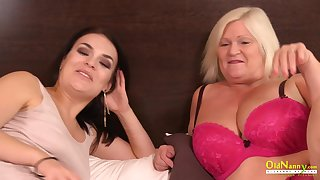 OldNannY Busty British Mature Enjoys Lesbian Sex