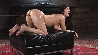 Fucking awesome fuck machine unassisted with gorgeous Cherry Torn