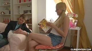 Russian amateur teen Andy longed-for thither try anal sex for the first duration
